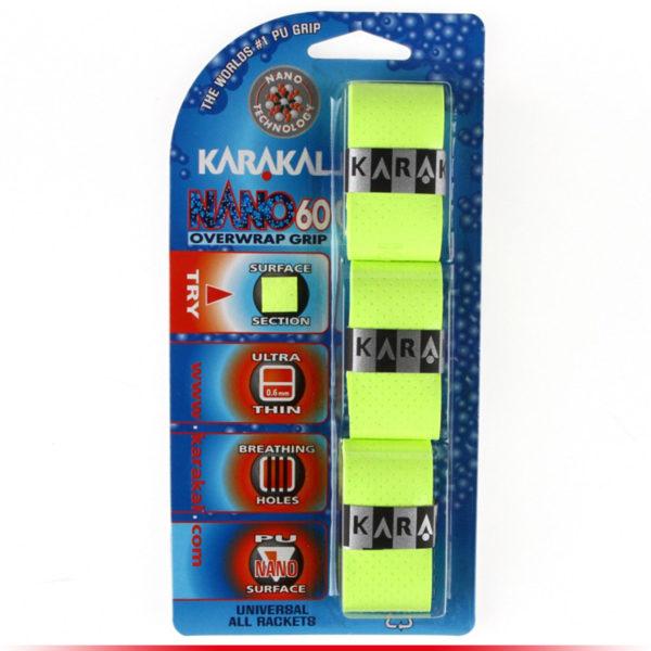 Karakal Surgrip Nano 60 Jaune