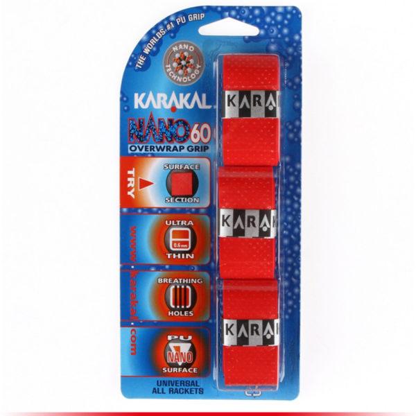 Karakal Surgrip Nano 60 Rouge