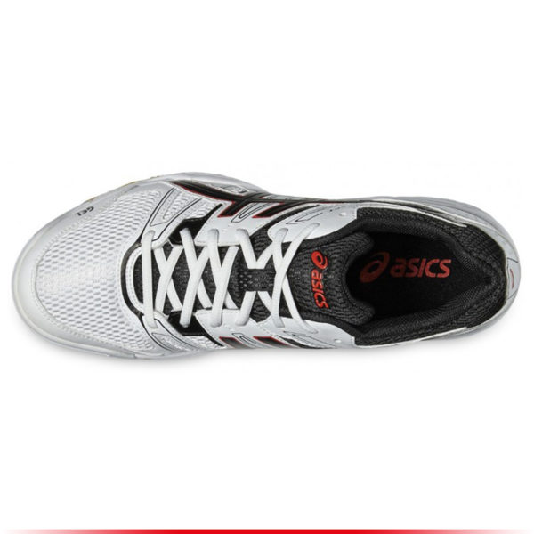 Chaussures Asics Gel Rocket 7 Men White Black Vermillon