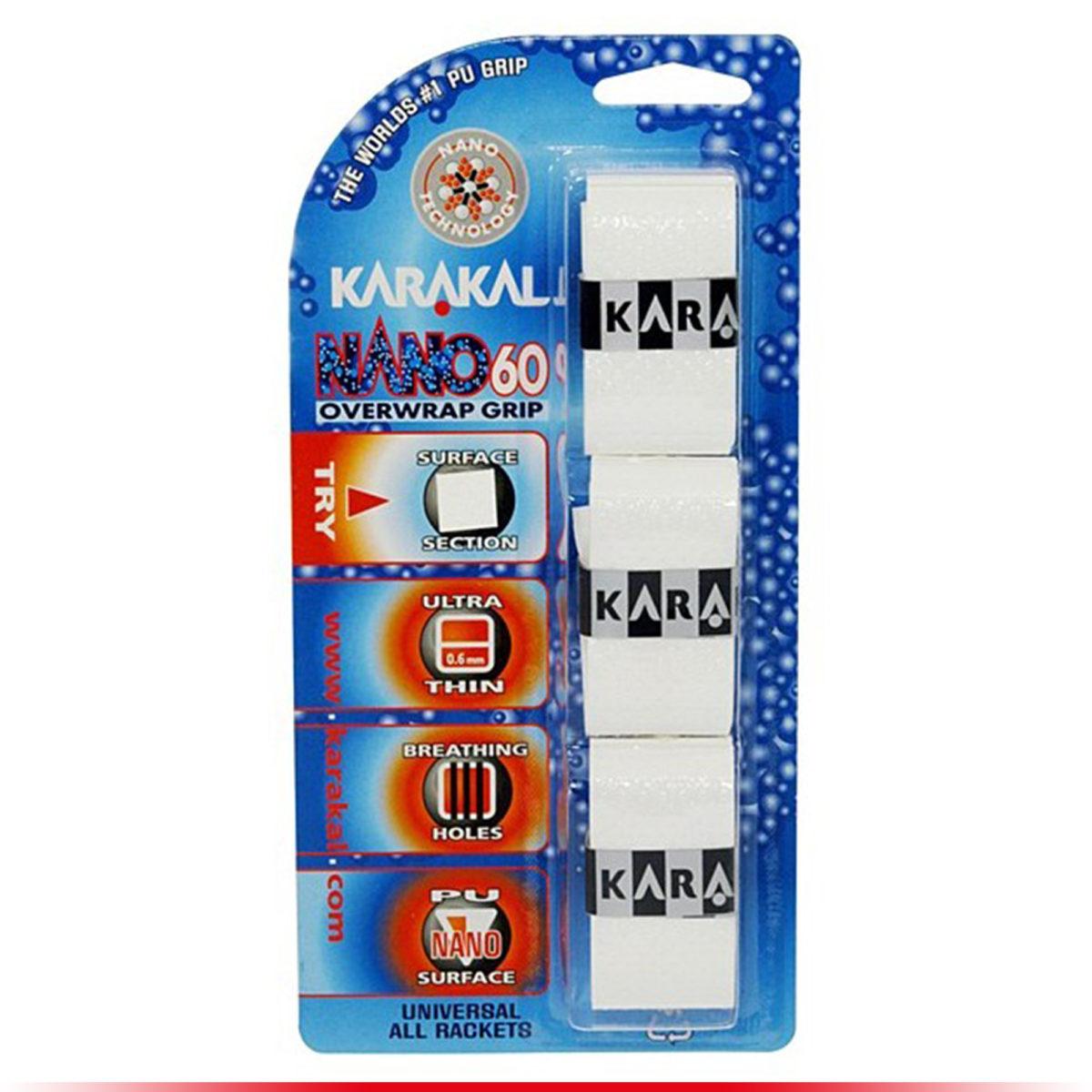 Karakal Surgrip Nano 60 Blanc